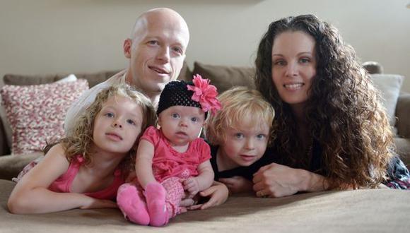 El trágico final de bebé (y su familia) que recibió trasplante