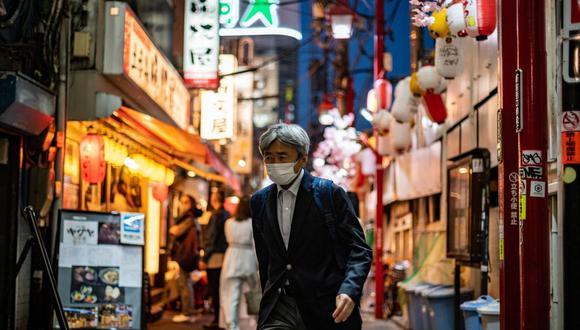 Japón declara estado de emergencia en Tokio por coronavirus a tres meses de los Juegos Olímpicos. (Foto: Philip FONG / AFP).
