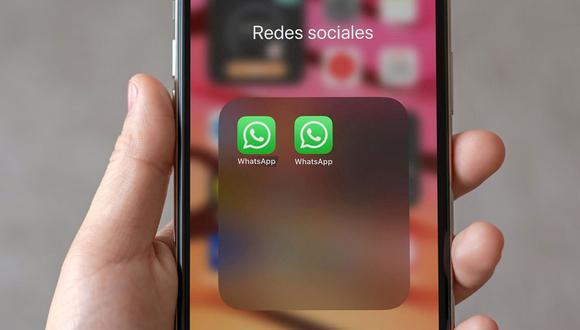 Así puedes tener dos cuentas de WhatsApp en tu celular iPhone. (Foto: MAG)