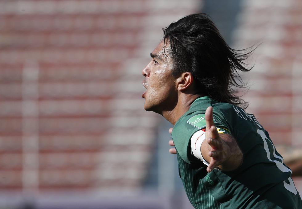 Marcelo Martins Moreno convirtió el 1-0 a favor de Bolivia