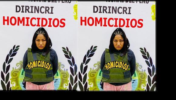 Luisa Irene Sánchez Candela (29) es sindicada de provocar la muerte a un estudiante. (Foto: PNP)