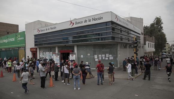 Según el MTPE, cerca de nueve de cada 10 hogares beneficiados han cobrado el subsidio del Gobierno. (Foto: Anthony Niño de Guzman / GEC)