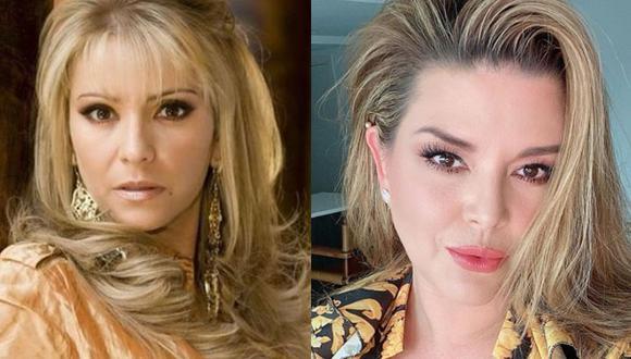 Daniela Castro y Alicia Machado fueron parte del elenco de 'Una familia con suerte', donde se convirtieron en rivales de amor (Foto: IG Alicia Machado / IG Daniela Castro)