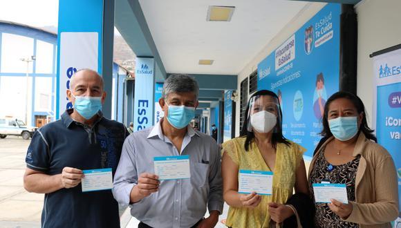 Ellos pertenecen a las áreas de Unidad de Cuidados Intensivos e Intermedios (UCI) (UCIN), hospitalización y Emergencias. (Foto: Essalud)