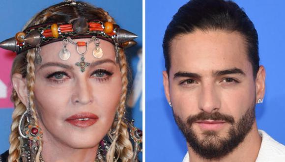 Frase de Madonna fue muy comentada por parte de los seguidores de Maluma en Instagram. (Foto :AFP)