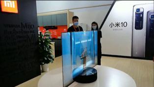 China: presentan primer televisor transparente producido en serie del mundo