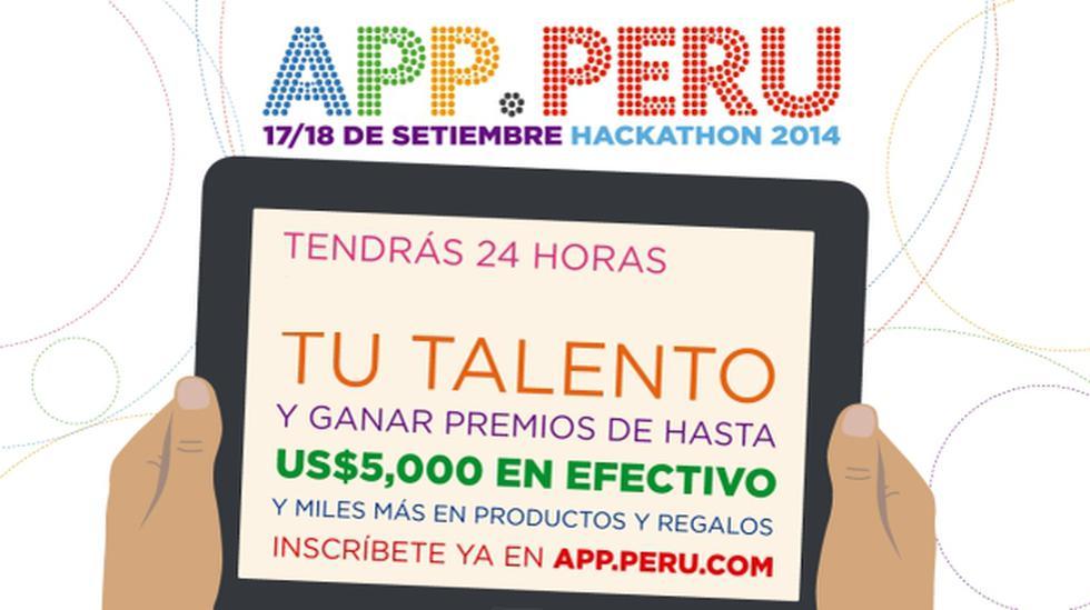 Grupo El Comercio y Peru.com presentan APP.PERU 2014 - 1