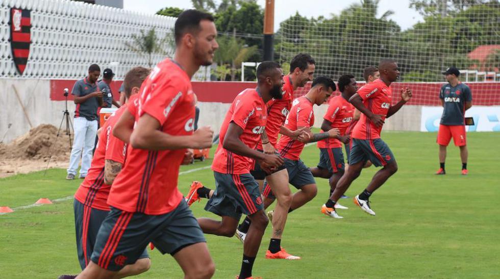 Flamengo continúa su pretemporada con Miguel Trauco y Guerrero - 9