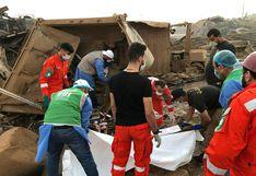 EN VIVO | Al menos 154 muertos y más de 5.000 heridos deja enorme explosión en Beirut | VIDEOS Y FOTOS