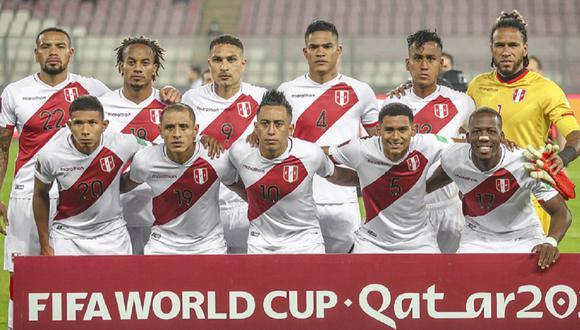 La selección peruana jugará tres partidos en octubre por las Eliminatorias. (Foto: Twitter)