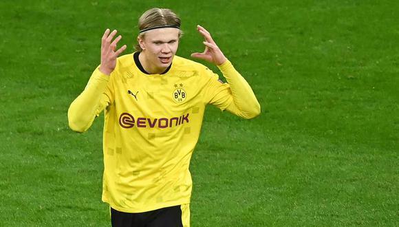 Erling Haaland llegó a Borussia Dortmund en la temporada 2020. (Foto: AFP)
