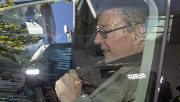 George Pell, el número tres del Vaticano. (Foto: AP)