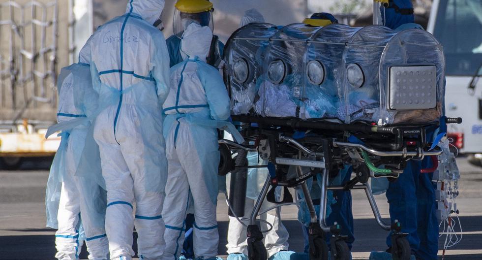 Coronavirus en Chile   Ultimas noticias   Último minuto: reporte de infectados y muertos   martes 2 de junio del 2020   Covid-19. (Foto:   AFP / Martin BERNETTI).