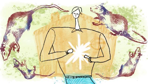 """La vigencia de """"La Peste"""" es """"innegable"""", dice Yrigoyen. (Ilustración: Enrique Gallo)"""