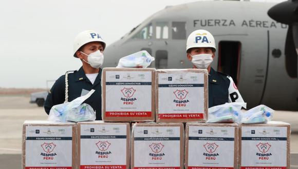 Coronavirus en Perú: 150 ventiladores serán distribuidos en Moquegua, Tacna y Cajamarca (Foto: Mindef).