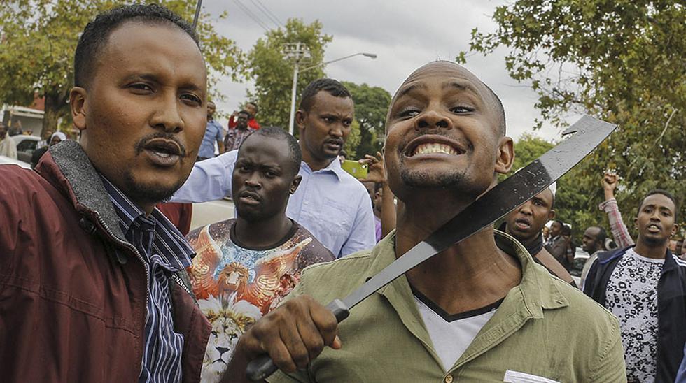 Sudáfrica: Violenta protesta contra los inmigrantes - 3