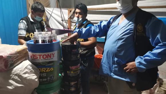 El material incautado iba a ser utilizado en minería ilegal. (Foto: PNP)