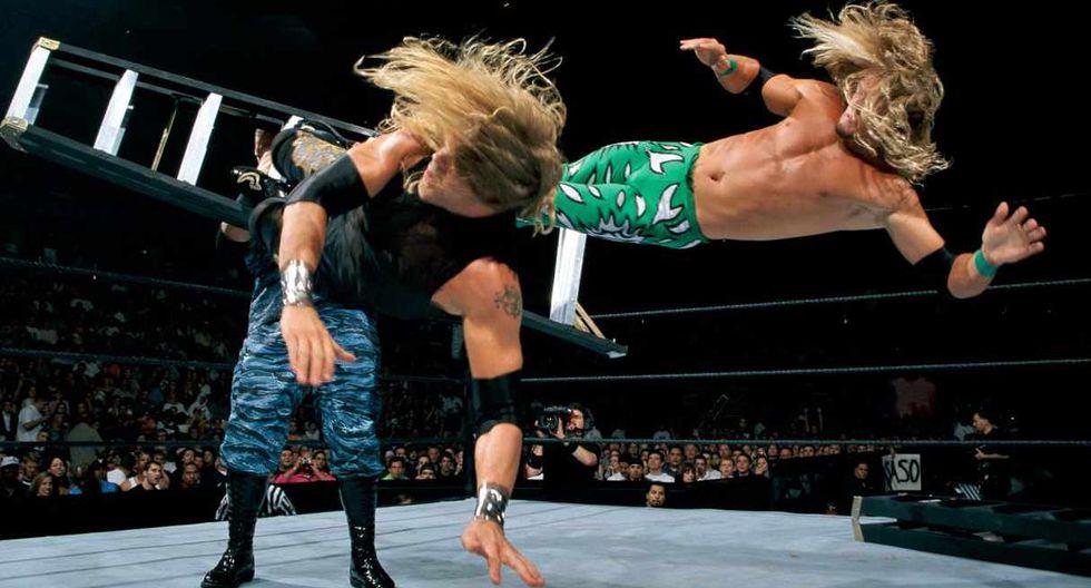 Edge debutó en Wrestlemania 16 e hizo pareja con Christian. (Foto: WWE)