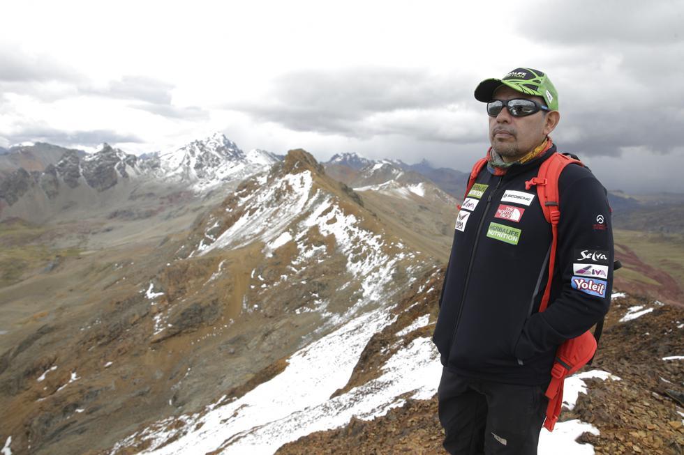 Richard Hidalgo: el peruano que ya conocía el cielo y las 14 montañas que soñó escalar. FOTOS: Alonso Chero.