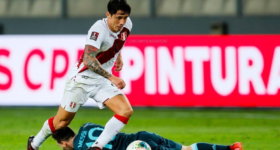 Gianluca Lapadula ha jugado cuatro partidos con la selección peruana y dio dos asistencias. (Foto: AFP)