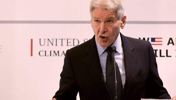 Harrison Ford es un gran amante de la aviación, pero ahora será investigado por las autoridades estadounidenses. (Foto: AFP)
