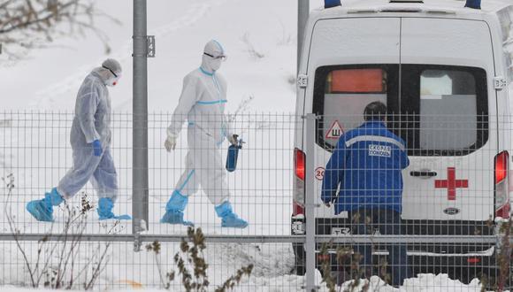Coronavirus en Rusia | Últimas noticias | Último minuto: reporte de infectados y muertos hoy, viernes 1 de enero del 2021. (Foto: NATALIA KOLESNIKOVA / AFP)