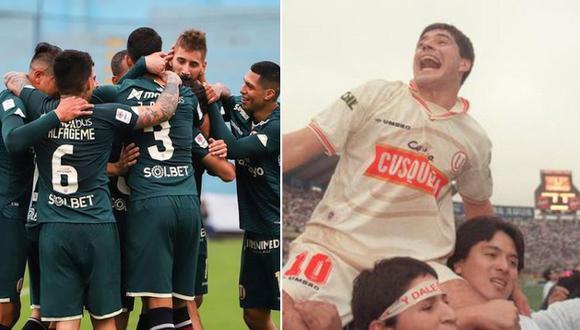 Tiago, 20 años, toda la vida por delante. A la derecha, Mauro, 22 años, campeón del Apertura con Universitario en 1998. FOTO: Universitario / GEC.
