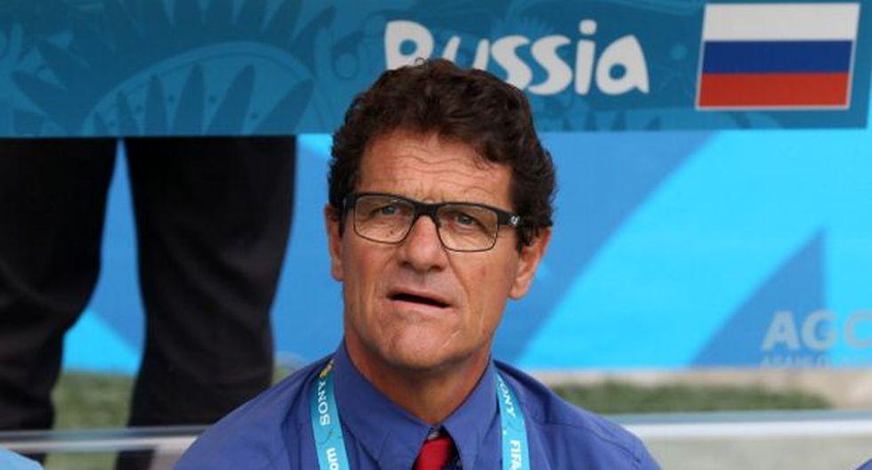 Rusia: Fabio Capello recién cobrará su sueldo a fin de año
