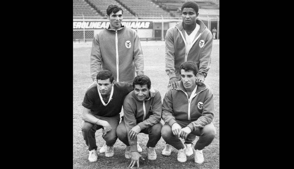 Fallecido Eusébio estuvo dos veces en Lima y jugó en el Estadio Nacional como estrella del Benfica [FOTOS] - 1
