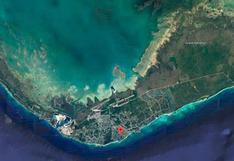 El 60% de la isla de Gran Bahama está bajo el agua, según impactante imagen de satélite
