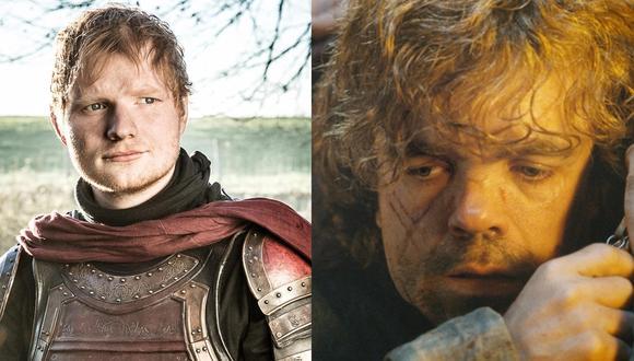 """Game of Thrones"". Personaje de Ed Sheeran cantó tema basado en Tyrion Lannister (Ed sheeran) (Foto: HBO)"