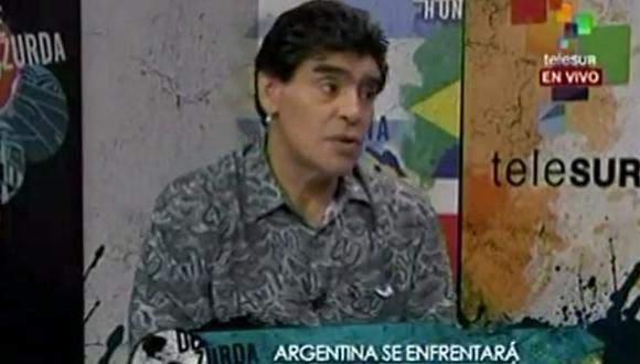 """Diego Armando Maradona: """"Argentina fue Mascherano y diez más"""""""