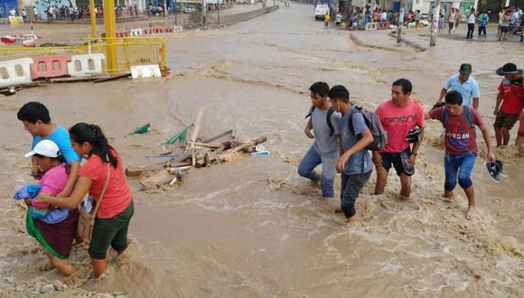 Desastre en Lima: casi 3 mil damnificados por lluvias y huaicos