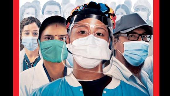 """La revista Time elige """"Guardianes del Año"""" a los trabajadores sanitarios que luchan contra el coronavirus. (Time)."""
