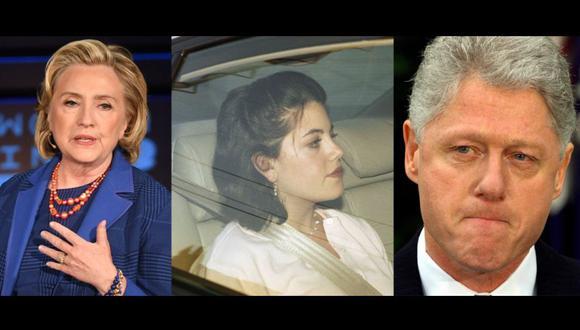 Romance entre Mónica Lewinsky y Bill Clinton no fue abuso de poder, según Hillary. (AFP)