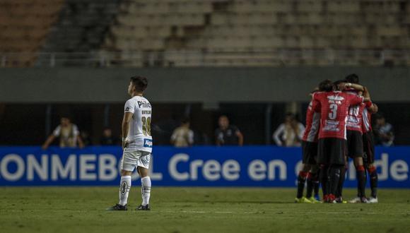 En un partido de ritmo lento, el uruguayo River Plate empató en Sao Paulo 1-1 con el brasileño Santos clasificándose a la segunda fase de la Copa Sudamericana 2019.