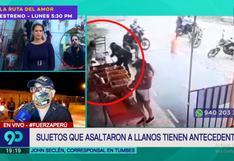 Luis Miguel Llanos era víctima de reglaje por parte de delincuentes que lo asaltaron en Tumbes, reveló la Policía