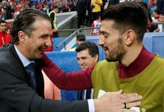Chile vs. Portugal: el curioso saludo entre Juan Antonio Pizzi con Pizzi