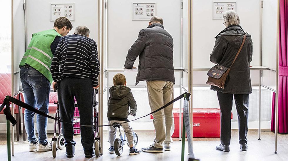 Holanda: Así transcurren comicios claves para Europa [FOTOS] - 1
