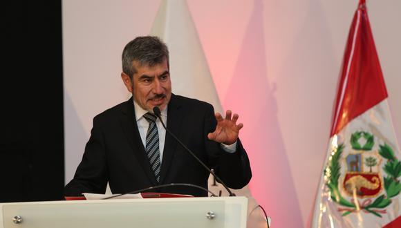 Rogers Valencia, ministro de Comercio Exterior y Turismo. (Foto: USI)