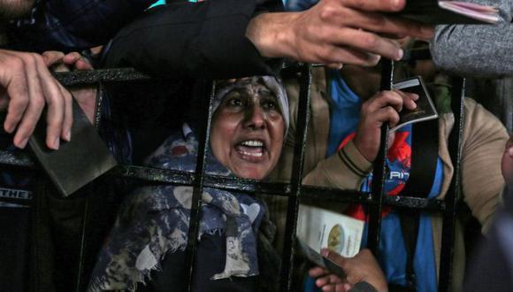 Egipto ha mantenido su frontera con Gaza cerrada la mayor parte del tiempo desde 2007. (Foto: AFP/GETTY).