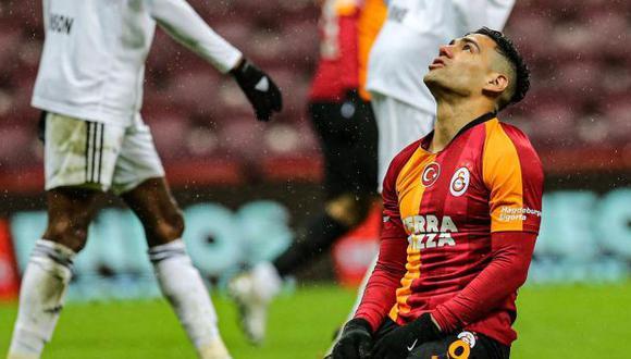 Radamel Falcao debe marcharse de Galatasaray. (Foto: AFP)