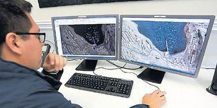 El Perú SAT 1 proveerá imágenes tomadas desde el espacio de la zona donde la aeronave de la Fuerza Aérea de Chile (Fach) desapareció de los radares. (Foto: El Comercio)