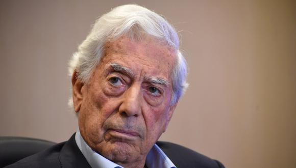 Mario Vargas Llosa se pronunció sobre la situación del Perú (Foto: AFP / Orlando SIERRA)