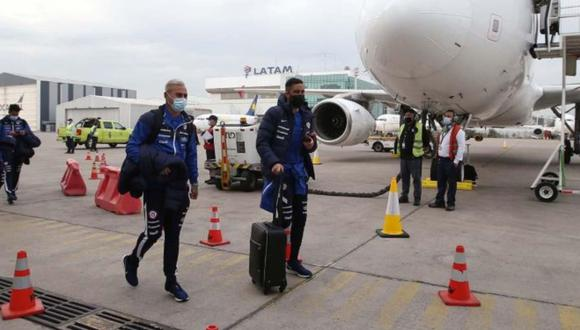 Chile llegó a Argentina para el partido por las Eliminatorias Qatar 2022.