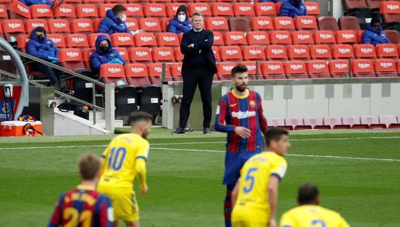 Ronald Koeman lamentó el empate entre Barcelona y Cádiz | Foto: EFE