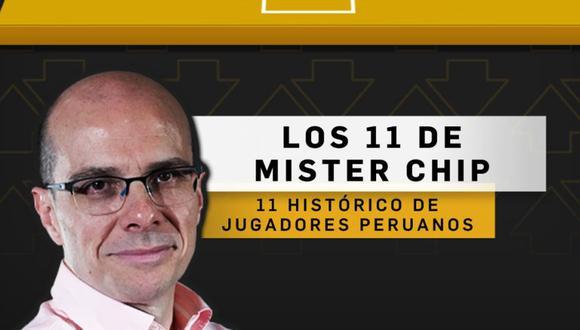 MisterChip eligió 11 histórico de la Selección Peruana.