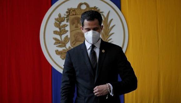Juan Guaidó no reconoce los resultados de las elecciones. (Reuters),