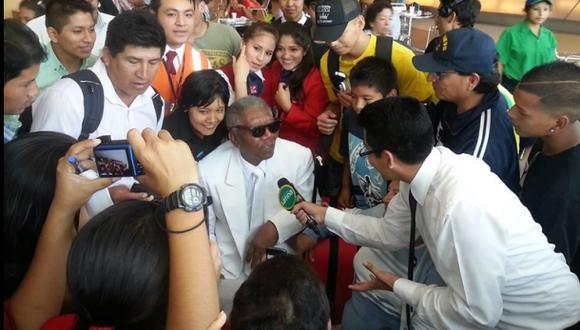 Supuesto Morgan Freeman en Lima alborotó las redes sociales