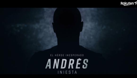 El documental de Andrés Iniesta tiene imágenes de su actual vida en Japón. (Captura)
